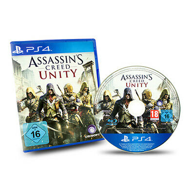 PS4 Playstation 4 Spiel Assassins Creed Unity in Ovp
