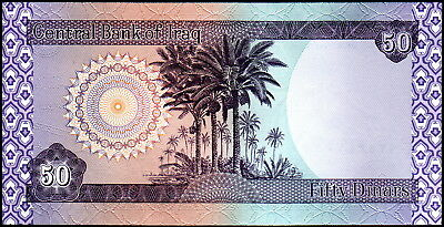 50 Iraqi Dinar - (1) x 50 *Collectible Note - Uncirculated Cond - Fast Shipping