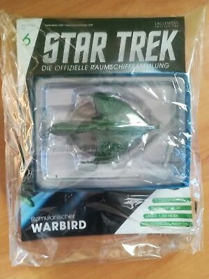 STAR TREK Official Starships Magazine 6 / ROMULANISCHER WARBIRD / Eaglemoss