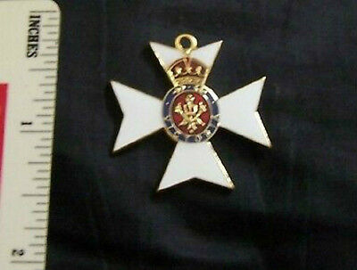 UK Britain Royal House Order Queen Victoria England Knight Award Knight Medal RN
