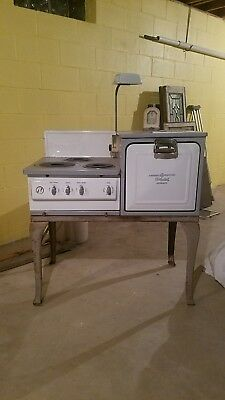 1920s General Electric Hot Point Automatic Porcelain Stove