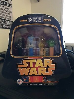 "Star Wars Limited Edition PEZ 4 Characters Collector""s Set"
