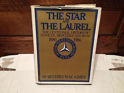 Mercedes Benz Book The Star and The Laurel 1886 - 1986 Racing Vintage Classic
