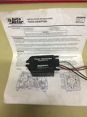 auto meter 9117 tach adapter 104 95 picclick Auto Tachometer auto meter 9117 rpm signal tach adapter for distributorless ignitions