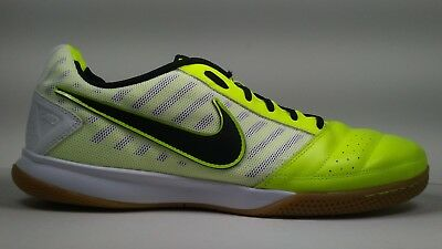 7591a9ddd2b Nike Mens Rare Gato ll 580453-701 Green White Indoor Soccer Shoes Size 13