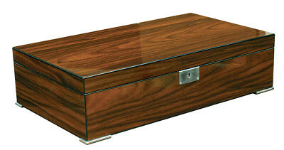 Brand New 250 Count SALVADOR Cigar Humidor Brazilian rosewood lacquer finish