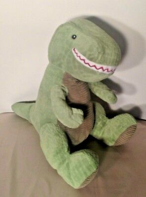 Kohls Cares Curious George Friend Green T Rex Dinosaur Plush Stuffed