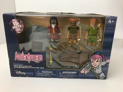 Disney Adventures Peter Pan Mega Minis Action Pack Set Disney Store Exclusive