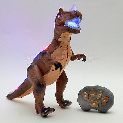 Kids Animated Remote Control Action Dinosaur Dancing Toy Gift Figure Robot RC