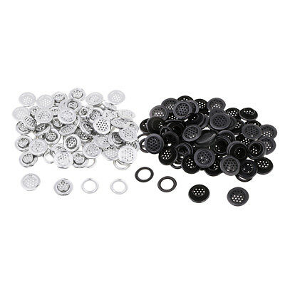 100 Sets 19mm Eyelets with Washers Metal for DIY Leather Arts & Crafts Decor