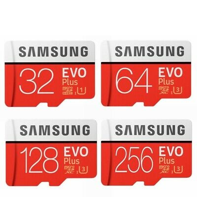 Samsung 64GB 128GB 256GB 512GB Evo Plus Micro SD Card Mobile Phone Memory Card