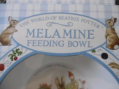 Beatrix Potter Melamine Feeding Bowl
