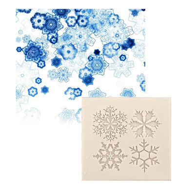 Snowflake Silicone Mold Resin Jewelry Making Mould Epoxy Craft DIY Gift Tool