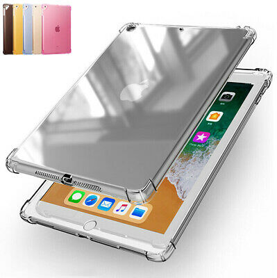 """For Apple iPad 6th Gen 2018 2017 9.7"""" Clear Soft Case Bumper Shockproof Cover"""