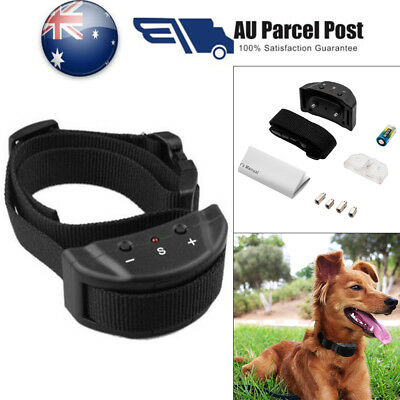 Anti Bark Electric Bark Dog E-Collar Stop Barking Pet Training Collar Control