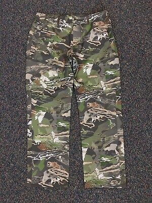 8bbdfe0bd80c0 NEW Under Armour Ridge Reaper ArmourVent Pants Forest Camo 38/32 Style  #1289637