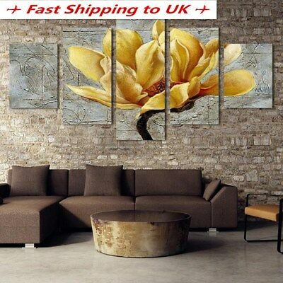 Colorful Modern Art Canvas Oil Painting Picture Print Home Wall Unframed Decor