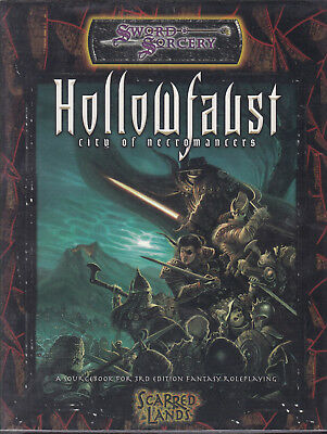 Sword & Sorcery - Scarred Lands: Hollowfaust. City of Necromancers