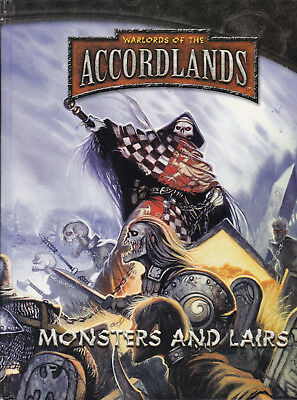 d20 System - Warlords of the Accordlands. Monsters  and Lairs