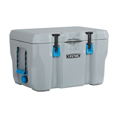 High Quality Cooler 55 Quart Storage Ice 7 days Camping Hiking Fishing 300lb New
