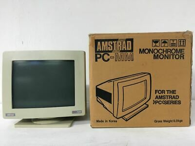 Vintage Amstrad PC-MM Computer Monitor - Excellent Condition - with Original Box