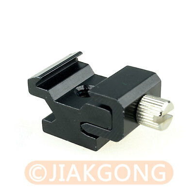 """10pcs/LOT Hot Shoe Flash Stand Adapter with 1/4""""-20 Tripod screw"""