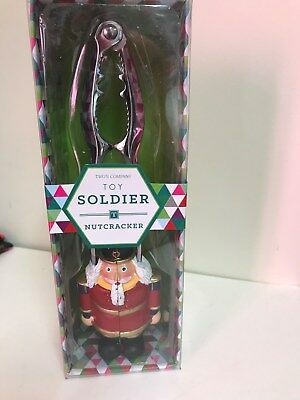 Christmas Toy Soldier Nut Cracker with Red & Navy Tunic Boxed New
