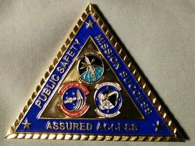 Orig USAF VAFB 30SW 30th Launch Group -1ASTS-4SLS-30LSS - Challenge Coin 2.5x2in