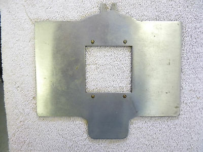 6x6cm carrier for Early Omega Enlarger (3 1/4x4 1/4)