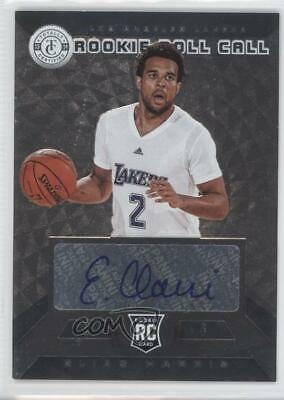 2013 Totally Certified Rookie Roll Call Signatures Silver #40 Elias Harris Auto