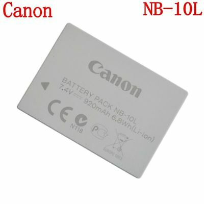 Genuine Original Canon NB-10L Battery for PowerShot G15 G16 SX40 SX60 CB-2LCE
