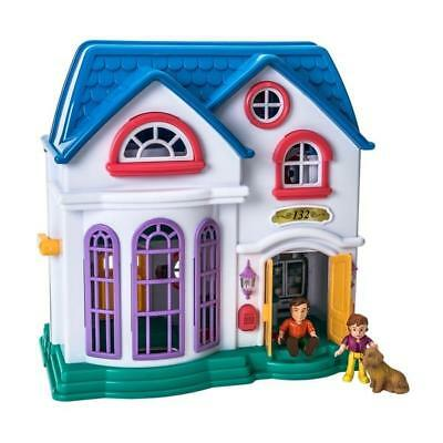 Dream Mansion Doll House Children's Light & Sound Dollhouse Home Play Figure Set