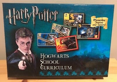 RARE Harry Potter Hogwarts School Curriculum Card Game *Contents Sealed