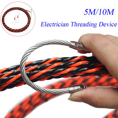 Electrical Wire Threader Cable Running Puller Electrician Threading Device