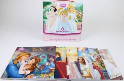 Disney Princess Happily Ever After Stories Story Box, Disney, Used; Good Book