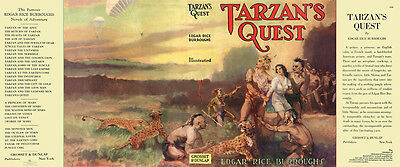 Grosset Edgar Rice Burroughs The Outlaw Of Torn Faksimile Dust umschlag 1
