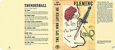 Fleming - THE SPY WHO LOVED ME Facsimile jacket first UK edition book