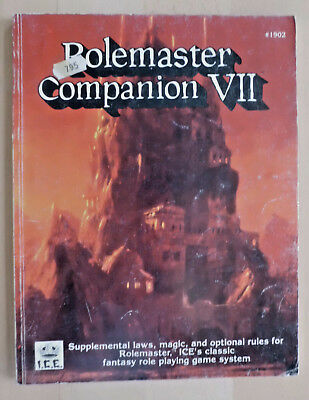 Rolemaster Companion VII Ironcrown Entertainment ICE # 1902