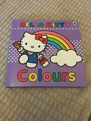 Hello Kitty Books Abc Colours Ladybird Books