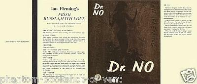 Fleming-Facsimile dust jacket for 1st 1958 UK edition of Dr. No