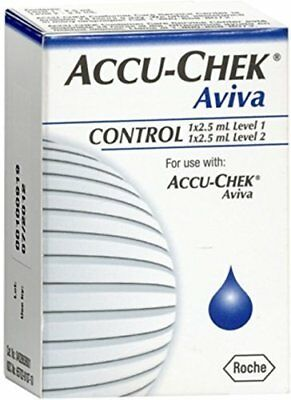 ACCU-CHEK Aviva Control Solution 1 Each (Pack of 2)
