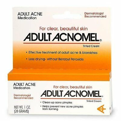 Acnomel Adult Acne Medication Cream - 1.3 Oz (4 Pack)