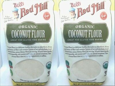 Bob's Red Mill Coconut Flour Organic Gluten-Free,Low Carb,High Fiber,Non-GMO