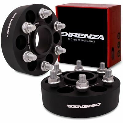 DIRENZA 6x114.3 40mm HUBCENTRIC ALLOY WHEEL SPACERS FOR NISSAN NAVARA PATHFINDER