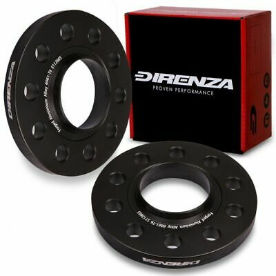 DIRENZA 5x112 15mm ALLOY WHEEL SPACERS FOR MERCEDES A B C CLASS C63 AMG SLR SLK