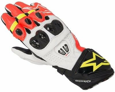 Alpinestars GP PRO R2 GLOVE - Red / Fluo / Orange - £60 OFF