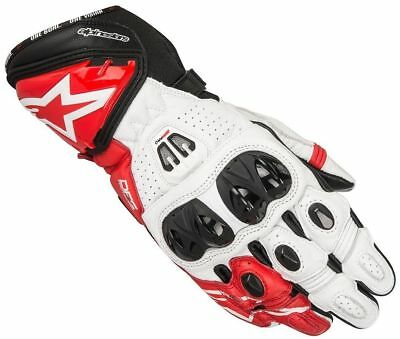 Alpinestars GP PRO R2 Motorcycle Racing GLOVE - Red/White - £60 OFF