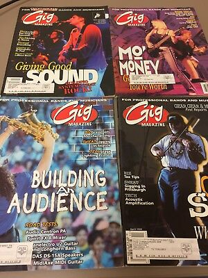 GiG Magazine lot of 23 IssuesFrom 1997, 1998, 1999 Good Conditon