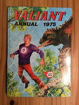 Valiant Annual 1975 Unclipped In Very Good Condition