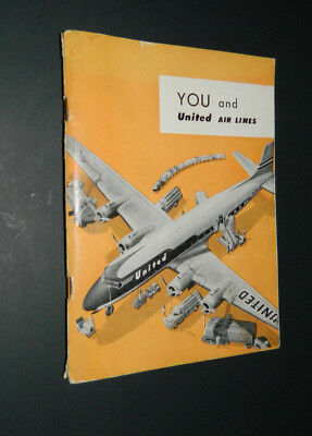 Vintage You and Unted Air Lines Employee Handbook